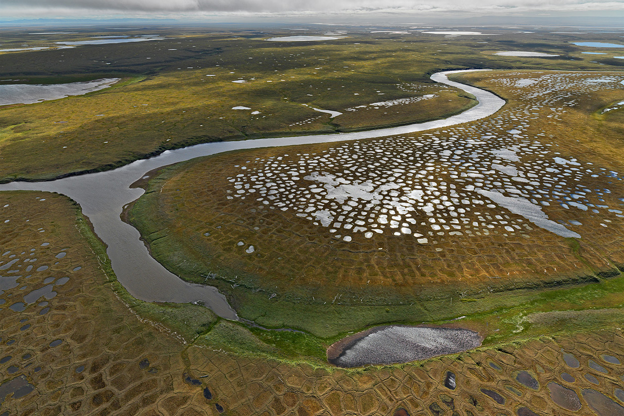 Permafrost Sibirien